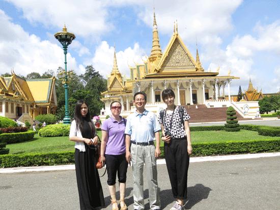 我院院长刘世能博士应邀赴柬埔寨西哈努克港经济特区调研
